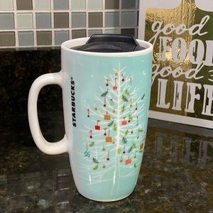 Starbucks Holiday 2019 Coffee Travel Mug 16oz NWOB